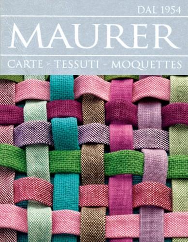 Maurer dal 1954 tessuti moquettes carte maurer negozio for Selezione tessuti arredamento